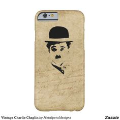 Vintage Charlie Chaplin Barely There iPhone 6 Case Vintage Iphone Cases, Iphone Case Covers, Vintage Nails, Charlie Chaplin, 6 Case, Iphone 6, Christmas, Yule, Xmas