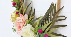 Make Your Own DIY Modern Spring Wreath - Persia Lou