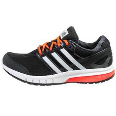 Adidas Galaxy Elite Mens B33786 Grey Solar Red Athletic Running Shoes Size 10