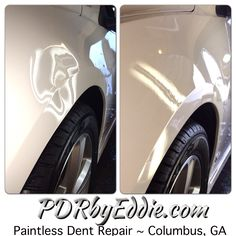 Paintless Dent Repair ~ All repairs done at a location convenient for you. Serving the Columbus, Georgia area since 1997. ~ PDRbyEddie.com ~ 706.888.8625 ~ #PDRbyEddie  #PDR #PaintlessDentRepair #PaintlessDentRemoval #DentRepair #BeforeAfter #ColumbusGA #ColumbusGeorgia #PhenixCity #FtBenning #MontgomeryAL