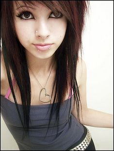 Another set of pictures of sexy emo girls. Cute Emo Girls pics) Cute Emo Girls pics) Another set of pictures of sexy emo girls. Emo Haircuts, Haircuts For Long Hair, Hairstyles With Bangs, Girl Hairstyles, Haircut Long, Trendy Haircuts, Wedding Hairstyles, Scene Hairstyles, Teenage Hairstyles