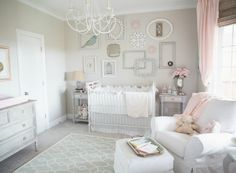 If you've been searching for inspiration for a soft and feminine space, look no farther than these pink and gray nurseries spotted in our gallery.