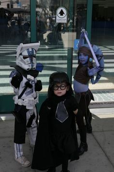 Kid dressed as Dark Helmet from Spaceballs at a Star Wars convention. Yes there is hope for todays youth.
