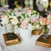 Make tables named after our favorite shared books