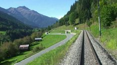 Glacier Express Part 1. A breath-taking journey through magnificent Swis...