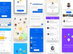 BlipMe - Summary designed by Dawid Młynarz. Mobile Application Design, Mobile Web Design, App Ui Design, User Interface Design, App Design Inspiration, Site Internet, Mobile Ui, Material Design, Minimalism Art