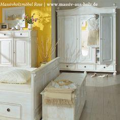 Traumwelten, die mit #Landhausmöbeln von www.massiv-aus-holz.de wahr werden. Der Besuch im Shop lohnt sich schon jetzt :-) #wohnen #home #landhaus #massiv #holz #shabbychic #handmade #schrank #kleideschrank #schlafzimmer