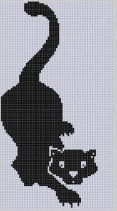 Panther Cross Stitch Pattern