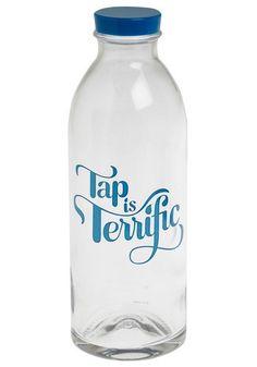 Fancy - Tap Is Terrific Water Bottle