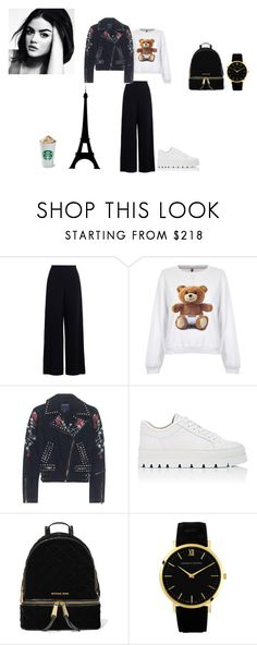 """outift 1"" by mazzagliadavide on Polyvore featuring moda, Zimmermann, Moschino, True Religion, Maison Margiela e MICHAEL Michael Kors"