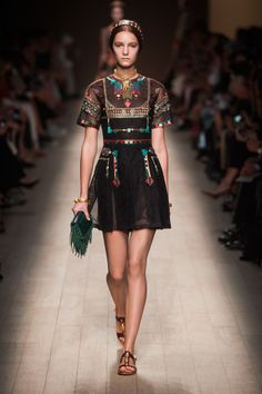 Défile Valentino Prêt-à-porter Printemps-été 2014 - Look 4