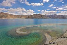 Pandong Lake , Leh - Ladakh , India