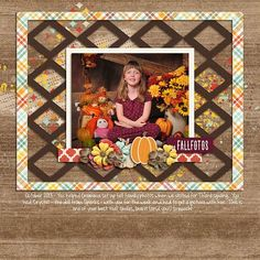 #fallphotos | Center Stage - Miss Fish Templates http://www.gottapixel.net/store/product.php?productid=10031237 |  Give Thanks - Digital Scrapbook Ingredients Hashtag wordart - Fall Family Photos - The Digi Crafter