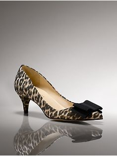 """leopard kitten heel, just in case I have an """"occasion"""""""