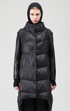 DEMOO PARKCHOONMOO - Photo Down Puffer Coat, Jackett, Fashion Inspiration, Winter Jackets, My Style, How To Wear, Modest Fashion, Winter Coats, Winter Vest Outfits