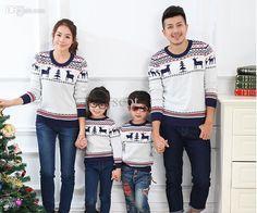 734d489c50 Wholesale-2015 fashion autumn winter family clothing sets men s  women long  sleeve cashmere · Matching Family Christmas SweatersMatching ...