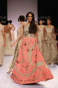 Jade by Monica and Karishma Lakme Fashion Week S/R 2014