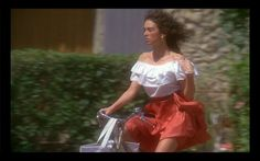 Isabelle Adjani, Summer Chic, Summer Vibes, Cafe Mode, Costume, Off Shoulder Blouse, Beautiful Dresses, Summertime, Ruffle Blouse