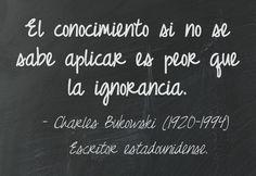 citas y frases Charles Bukowski español - Buscar con Google