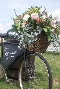 Wonderful flowers , great props from Liz
