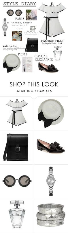 """Stroll & style"" by fini-i ❤ liked on Polyvore featuring Mulberry, Kate Spade, Christopher Kane, GUESS, Avon and MeditationRings"