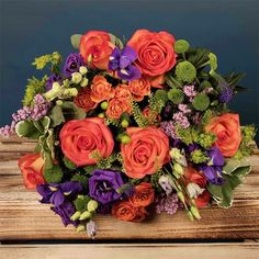 Say Happy Birthday with Bloom Magic! Let your loved ones know you are thinking of them with luxury flowers, bouquets & gift sets. Delivery throughout Ireland. Luxury Flowers, Love Flowers, Send Flowers Online, Same Day Flower Delivery, Gerbera, Orange And Purple, Birthday Balloons, Floral Arrangements, Wedding Bouquets