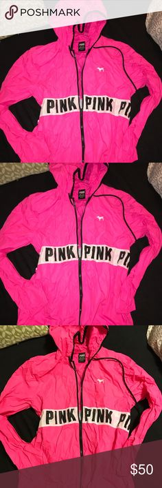 Victoria's Secret PINK raincoat Victoria's Secret PINK raincoat PINK Victoria's Secret Jackets & Coats