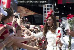 July 1, 2011 - William and Catherine, Duke and Duchess of Cambridge on the second day of their tour of Canada. Prince William and Catherine were at Parliament Hill for the Canada Day celebrations. The couple were greeted by thousands of cheering fans.