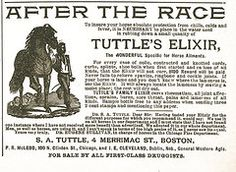 Vintage Ads Art - Tuttles Elixir by Cathy Anderson