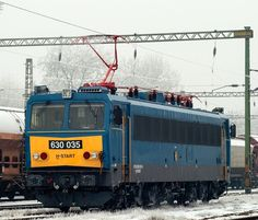 Hungary - Ganz–MÁVAG Electric Locomotive in Szeged Rail Train, Electric Locomotive, Bahn, Commercial Vehicle, Hungary, Vehicles, Car, Vehicle, Tools