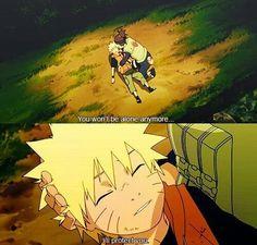 Naruto isn't alone anymore.