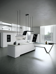 Vision by Pininfarina The mark of perfect geometry a beautiful sensation snaiderocucine interiordesign interiordecor kitchendecor kitchendesign snaidero amazing modern puredesign home welchome london italy madeinitaly Luxury Kitchen Design, Luxury Kitchens, Modern Interior Design, Interior Design Living Room, Home Decor Kitchen, Kitchen Furniture, Furniture Design, Furniture Removal, Küchen Design