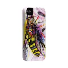 If I owned an iPhone, I'd want this terrifying bee on it.