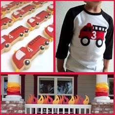 firetruck party supplies - Google Search