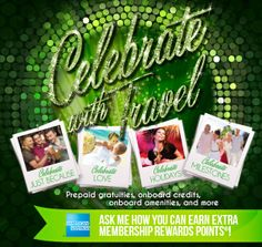 #celebratewithtravel Celebrate with Travel - prepaid gratuities, onboard credits, onboard amenities, and more