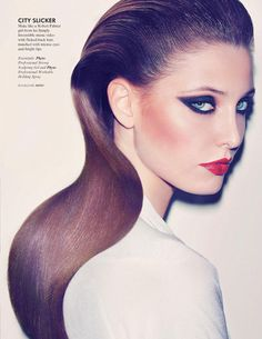 Big Hair Day by Gan for L'Officiel Singapore October 2010