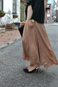 hijabi fashion haute hijab maxi skirt hani hulu