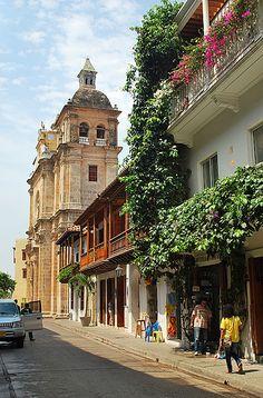 Ciudad amurallada ,Cartagena de Indias Colombia