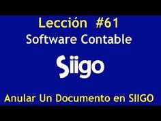 624. Lección # 61 Cómo Anular Un Documento en SIIGO https://www.youtube.com/watch?v=ZUqgEb3R870