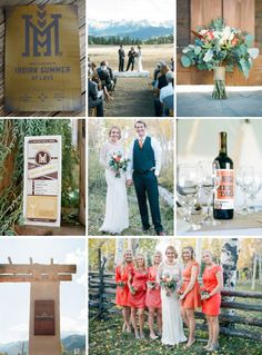 Autumnal Colorado wedding | Photography: Jeffrey C. Gleason