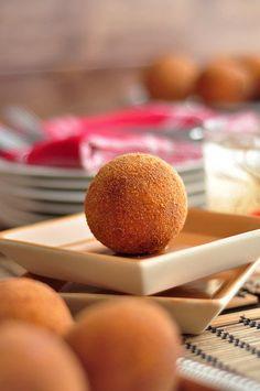 Cuban Potato Balls (Papas Rellenas) - The Candid Appetite