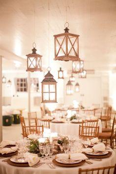 hanging lanterns wedding lighting ideas for reception