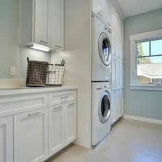 perfect laundry room ideas stacked washer dryer with