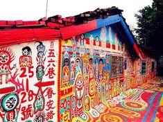 """退屈をふきとばすアート。台湾の""""虹の村""""「彩虹眷村」がポップすぎる!   RETRIP[リトリップ]"""
