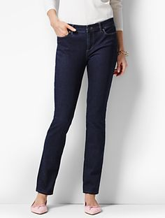Talbots - The Flawless Five-Pocket Slim Ankle - Quay Wash | | Discover your new look at Talbots. Shop our The Flawless Five-Pocket Slim Ankle - Quay Wash for stylish clothing and accessories with a modern twist at Talbots