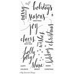 christmas clear stamps - Google Search