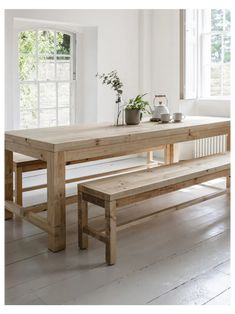 Dining Table Bench Seat, Kitchen Table Bench, Wooden Table And Chairs, Dining Table With Bench, Dinning Room Tables, A Table, Outdoor Bench Table, Narrow Dining Room Table, Small Dinner Table
