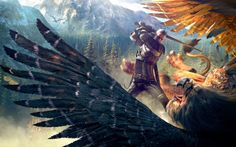 General 2560x1600 The Witcher The Witcher 3: Wild Hunt video games fantasy art