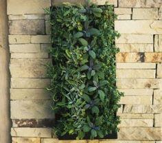 NEW! Bright Green Designer Living Wall Planter
