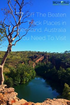 The 7 Off The Beaten Track Places In Queensland, Australia You Need To Visit including Boodjamulla, Carnarvon Gorge and Karumba Coast Australia, Queensland Australia, Australia Travel, Australia 2017, Oh The Places You'll Go, Places To Travel, Travel Destinations, Australian Road Trip, Travel Articles